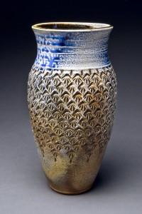 vase stamped blue top-180