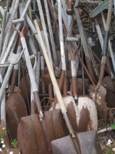 rusty-shovels