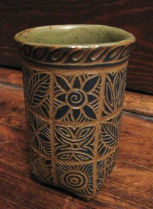 signature på keramik