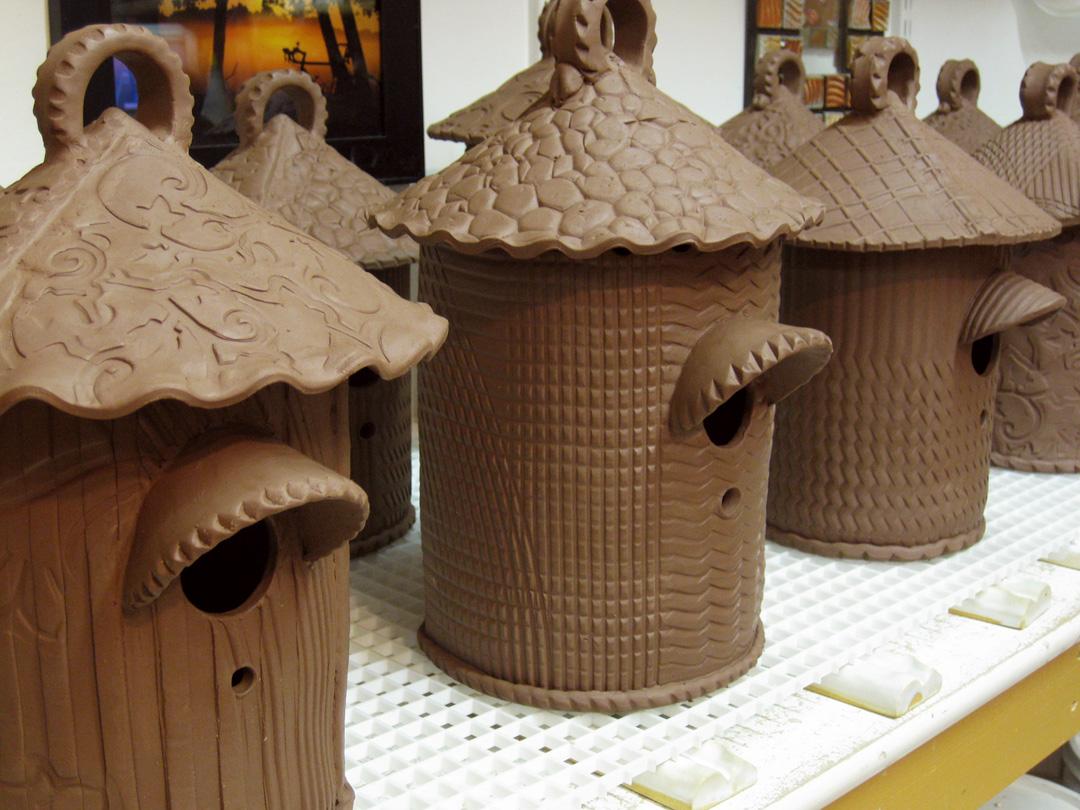 Ceramic II Birdhouse on Pinterest | Birdhouses, Bird ...