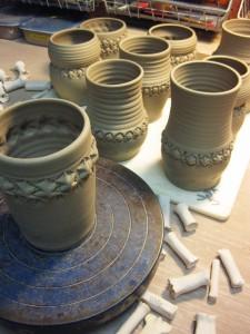Gary Jackson-stamping mugs