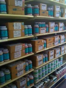 glaze shelf