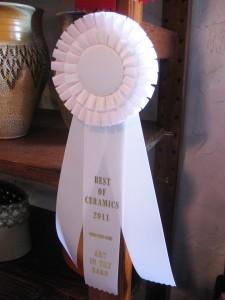 Gary Jackson-ribbon best of ceramics