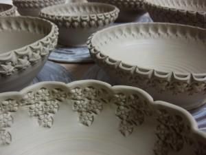 Gary Jackson-stamped bowls 2