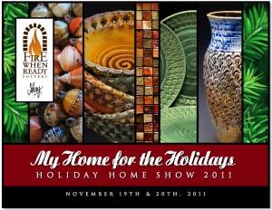holiday home show postcard snapshot