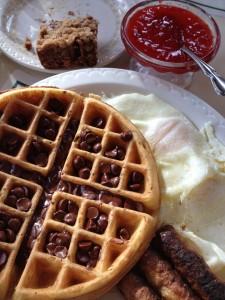 breakfast at sunrise lodge