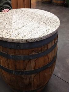 DOGFISH HEAD-barrel table