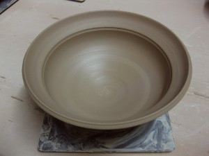 bowl demo - flanged