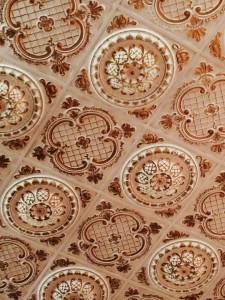tiled ceiling 2