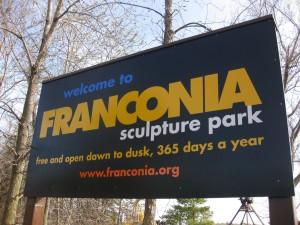 FRANCONIA sign-180