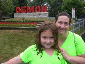 jen & taylor at The Demon