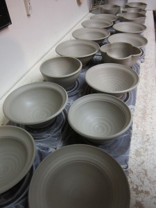 bowls to be stamped