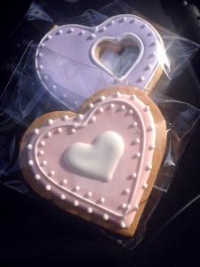 Taylor valentine cookies