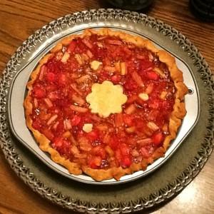 Kim's Rhubarb Pie