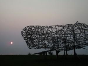 7.4.15 whale sculpture 1