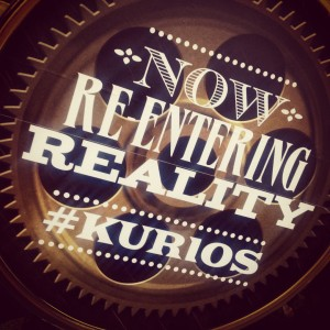 re-entering reality