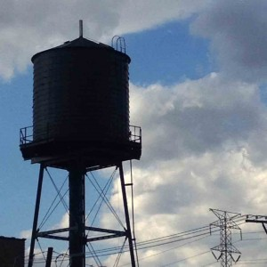 10.13 clouded water tower