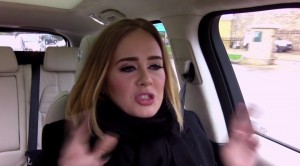Adele carpool 1