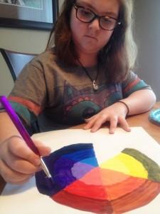 color wheel Taylor 2