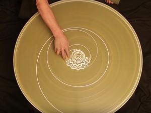 slip painting spirals 7