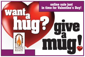 want a hug, give a mug