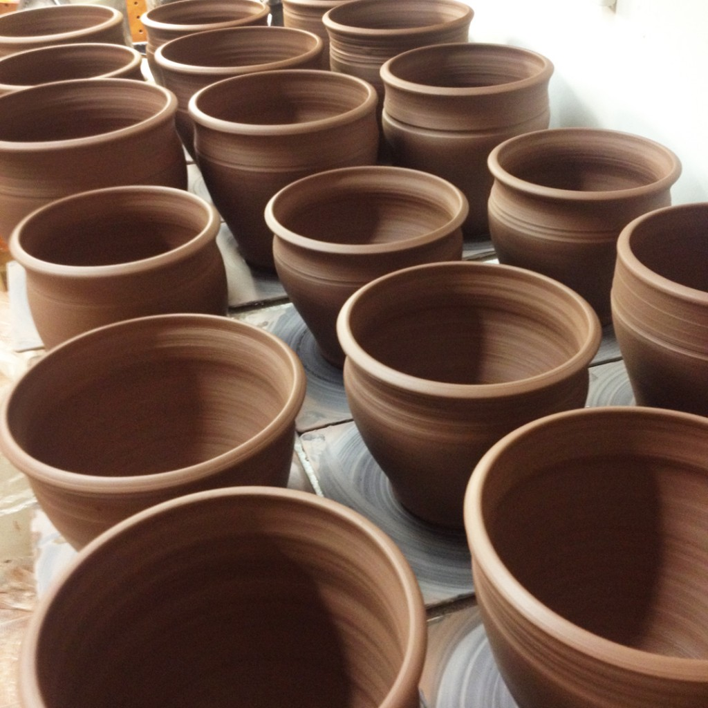 Gary jackson fire when ready pottery for Terracotta works pots